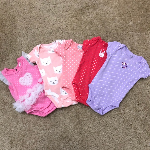 Carter's Other - 3 Month Baby Girl Onesies